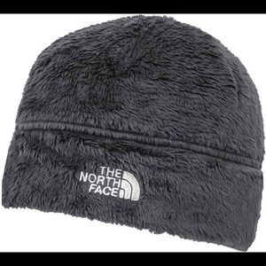 North Face gray beanie